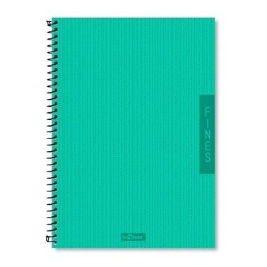 Le Color Fines Çizgili Defter Spiralli A4 200 Sayfa Renkli